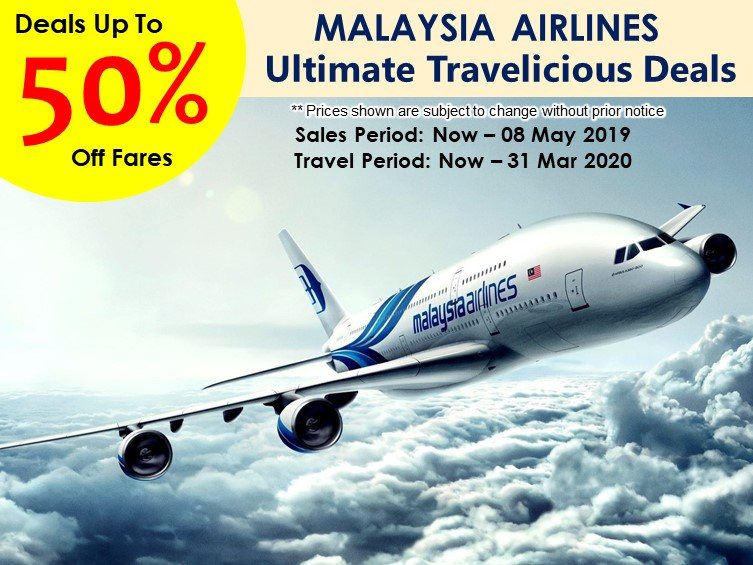 malaysia airlines 50%